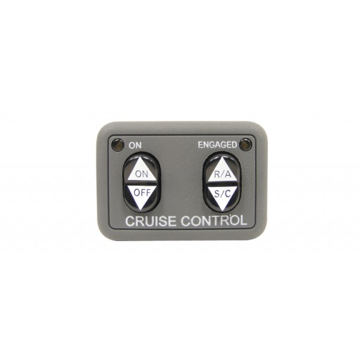 Rostra 250-3592 Universal Dash Mount Open Circuit Cruise Control Switch With Engaged LED