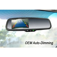 "Rear Camera Display 4.3"" LCD with OEM Auto Dimming"